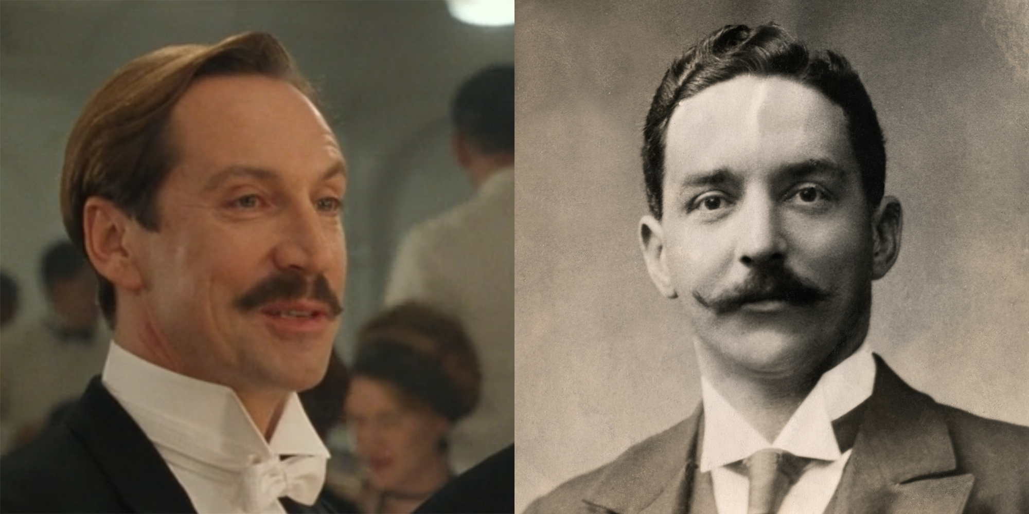 17 Titanic Characters With Their Real Life Counterparts Titanic