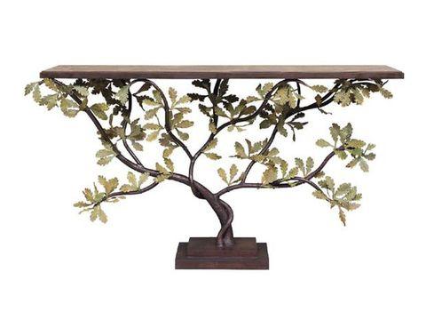Branch, Flowerpot, Tree, Table, Plant, Iron, Flower, Lighting, Woody plant, Twig,