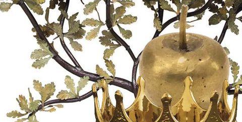 Branch, Tree, Plant, Metal, Illustration,