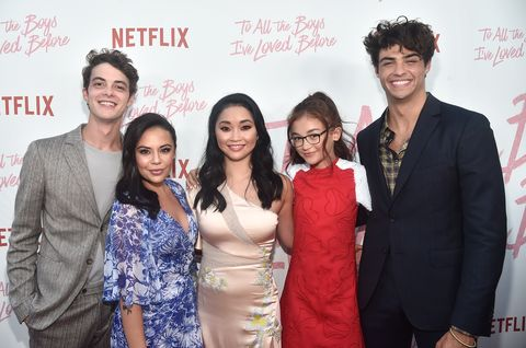Image result for to all the boys i loved before cast