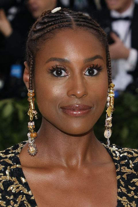 Best Natural Hairstyles: Issa Rae Braids Met Gala 2018