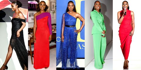 every single look issa rae wore to host the cfdas was made by black