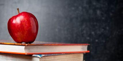 Fuel School Slider Apple and Books
