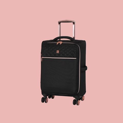 Suitcase, Bag, Hand luggage, Baggage, Luggage and bags, Rolling, Wheel, Travel, Automotive wheel system,