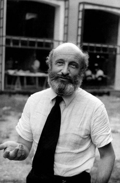 Vittorio Gregotti at the Biennale of Architecture