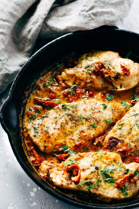 20 italian chicken recipes quick and easy chicken dishes creamy chicken parmesan skillet forumfinder Image collections