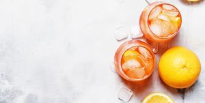 Aldi orange gin