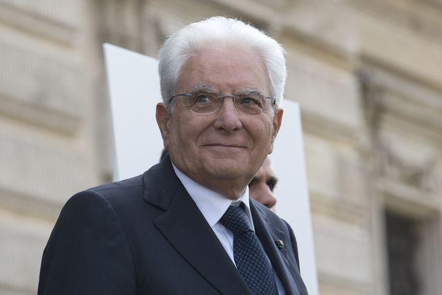italian president sergio mattarella attends a meeting over the corte dei conti