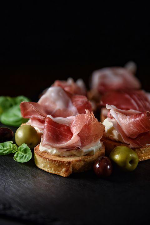 Italian Prosciutto Canapes