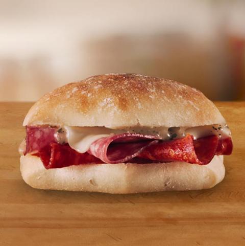 Subway Italian Spice Slider Nutrition