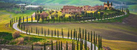 Natural landscape, Fence, Land lot, Rural area, Grass, Tree, Landscape, Farm, Plant, Hill station,
