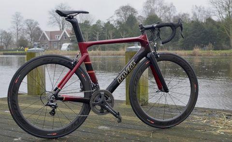 review, Italvega, Nuovo Supersport, fiets, vakwerk, rijeigenschappen