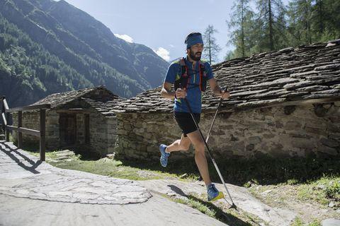 corredor de trail running
