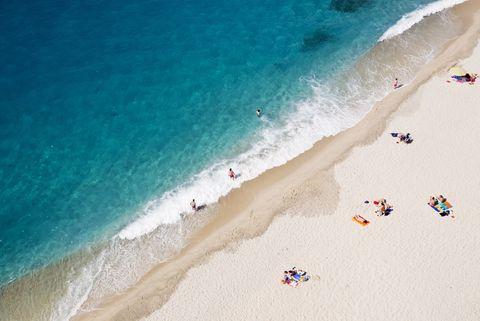 Italy, Calabria, Tropea, beach