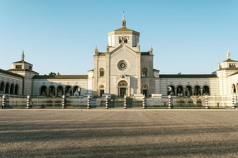 Italy, Lombardy, Milan, Cimitero Monumentale