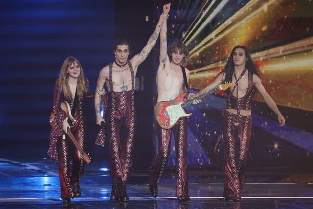 maneskin eurovisión