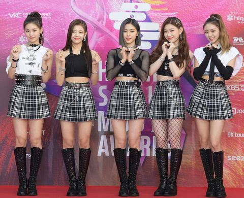 the 29th high1 seoul music awards  photo call
