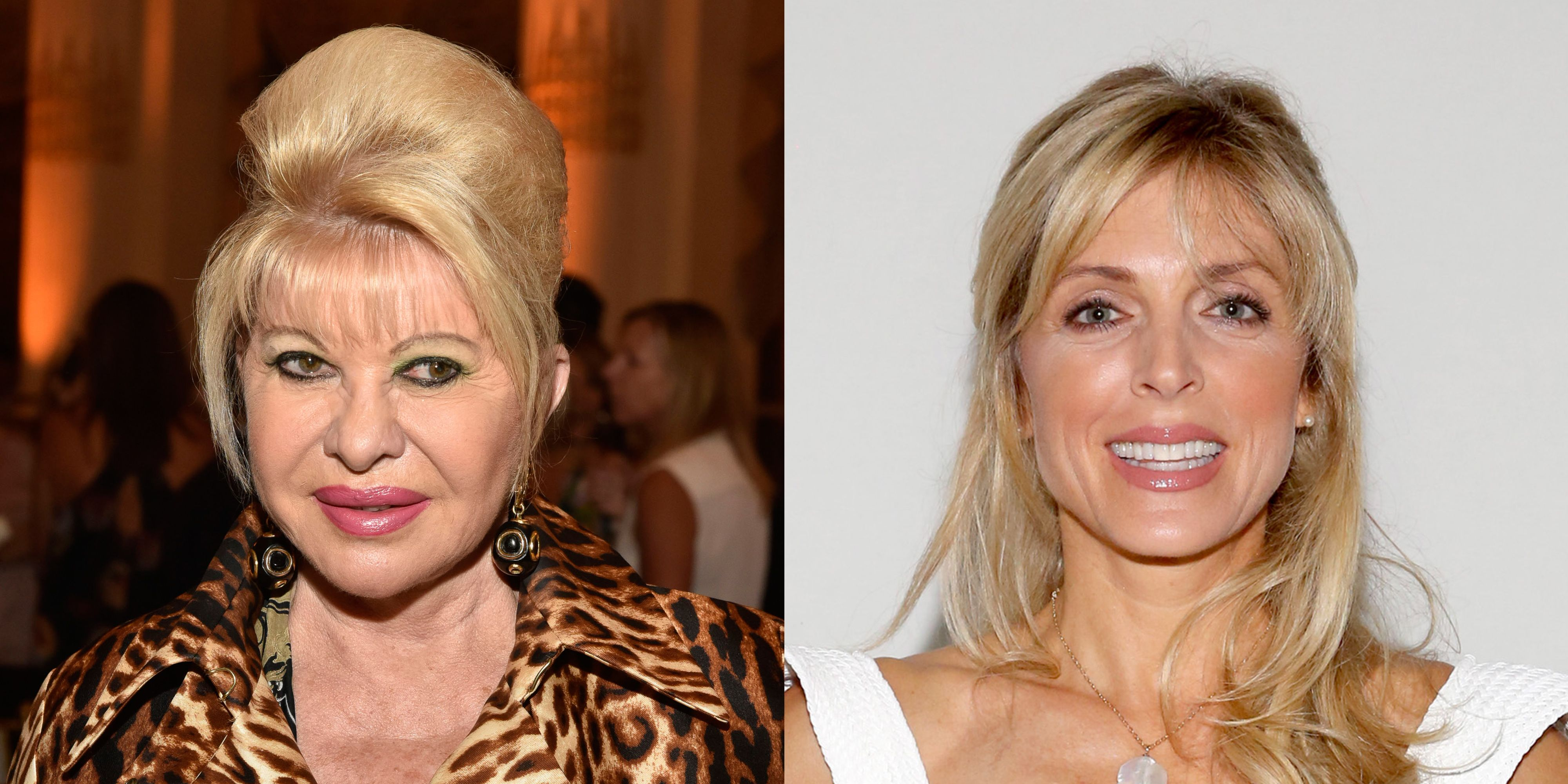 Ivana Trump And Marla Maples