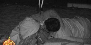 El beso entre Ivana y Hugo en 'Supervivientes'