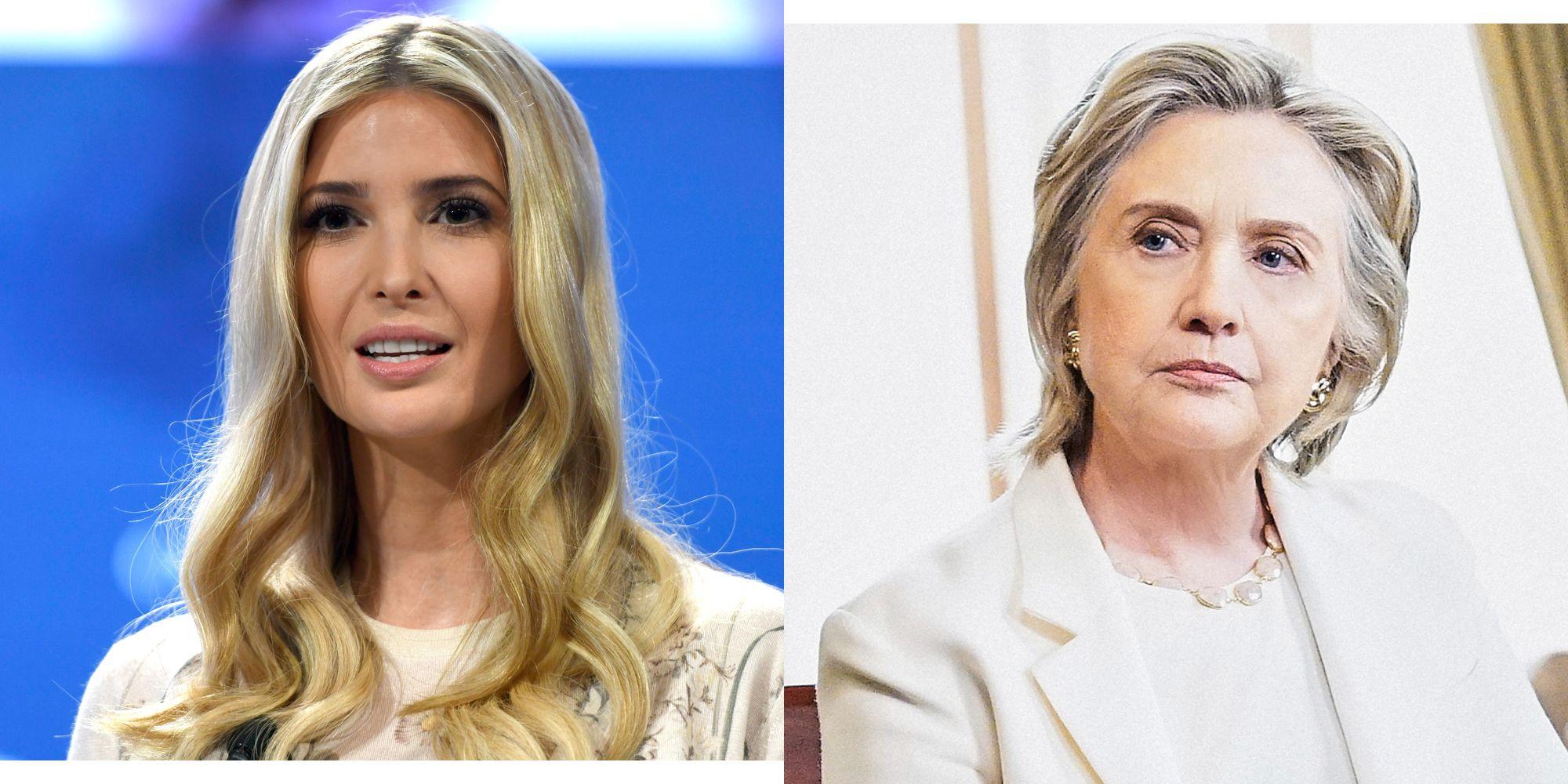 Ivanka Trump Hillary Clinton