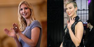 Ivanka Trump and Karlie Kloss