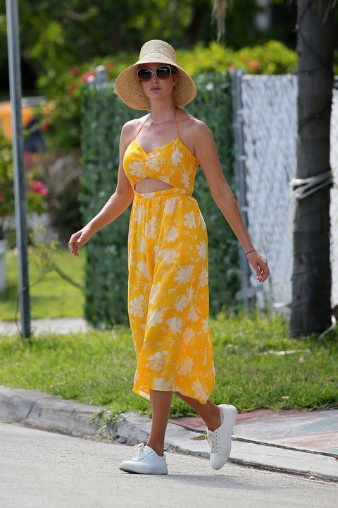 ivanka trump looks en amarillo