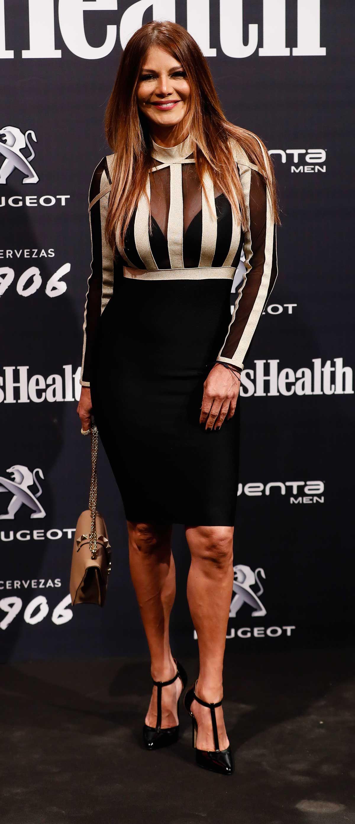 Ivonne Reyes en los premios Men's Health 2018
