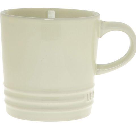 Ivory Branded Mug 8x8cm, Le Creuset