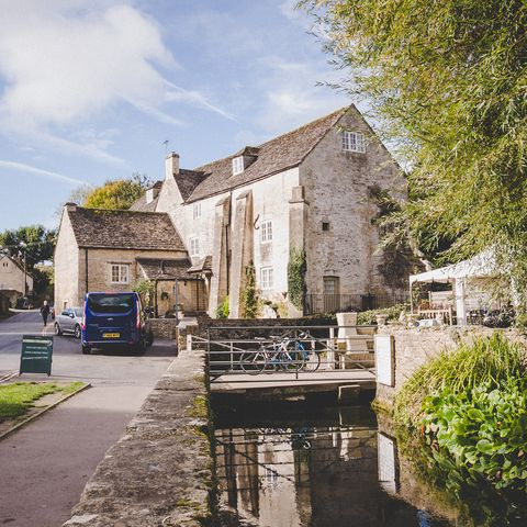 Property, Waterway, Town, Building, House, Sky, Architecture, Tree, Canal, Village,