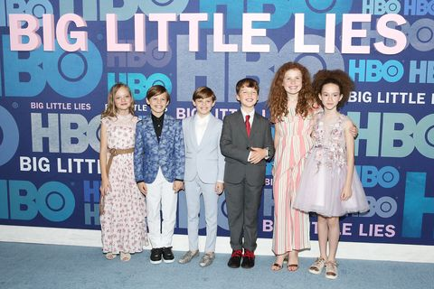 big little lies premiere Ivy George, Cameron Crovetti, Nicholas Crovetti, Iain Armitage, Darby Camp and Chloe Coleman