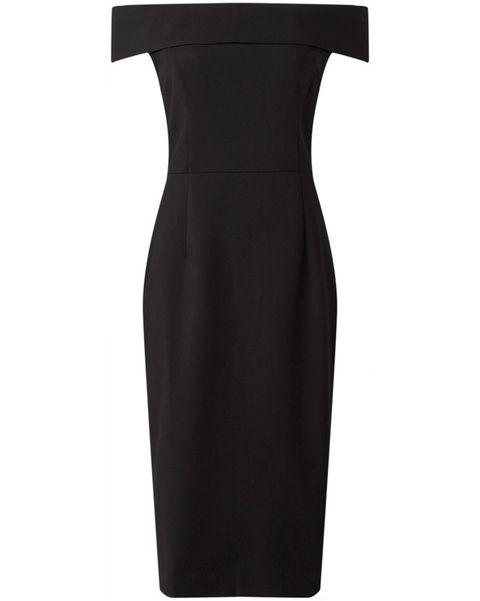 ivy  oak zwarte jurk