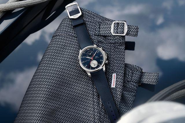 iwc portugieser yacht club chronograph orlebar brown