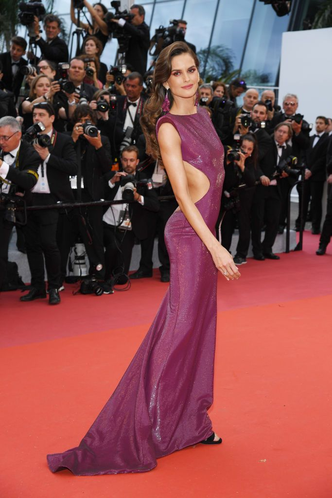 Izabel Goulart At the opening ceremony of the Cannes Film Festival and premiere of The Dead Don't Die .