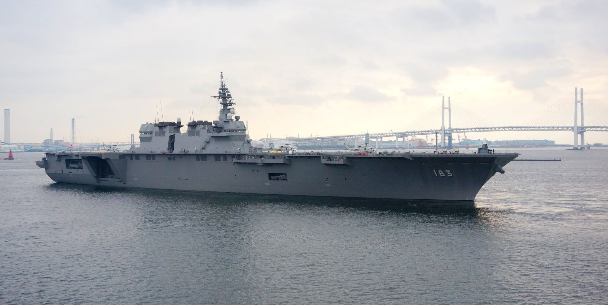 Japan Considers Converting Ships to Aircraft Carriers