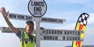 Sharon Gayter - Land's End to John O'Groats