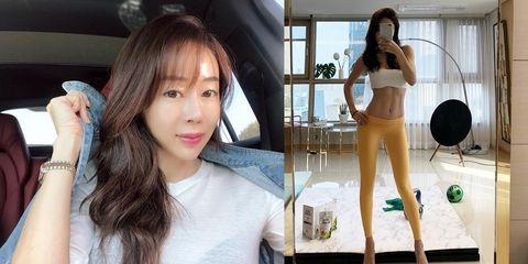 Belle,塑身,韓國辣媽,美腿,瘦身,彈力帶,抬腿,逆天長腿