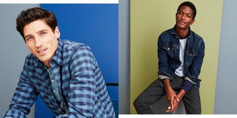 Blue, Denim, Jeans, Sitting, Textile, Photography, Photo shoot, Portrait, Style, Jacket,