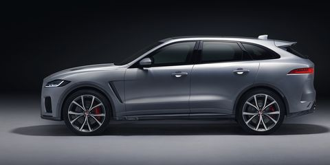 2019 Jaguar F-Pace SVR: News, Design, Engine, Price >> The 2019 Jaguar F Pace Svr Is 550 Hp Of Supercharged English