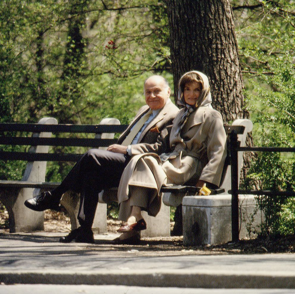 Walking in Central Park was one of Jackie Kennedy Onassis and Maurice Tempelsman's favorite pastimes when they lived together on the Upper East Side.