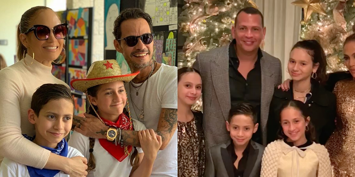 J.Lo Honored Both A-Rod and Marc Anthony for Father's Day in the Sweetest Way