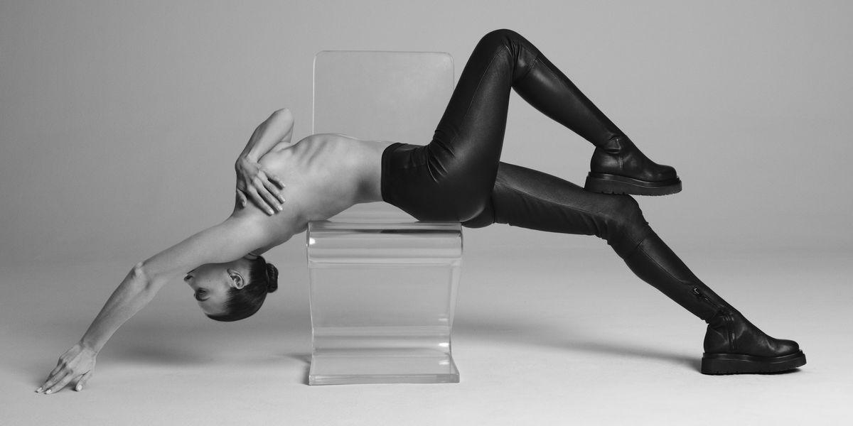 Irina Shayk and Tamara Mellon Revamp the Pant-Boot