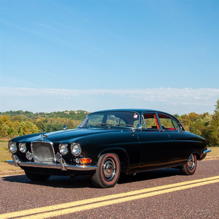 Sedans Don't Get Much Prettier Than This 1964 Jaguar Mark X