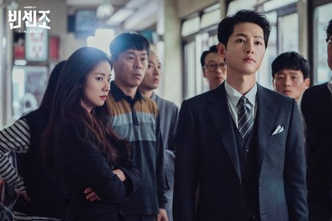 netflix韓劇《黑道律師文森佐》宋仲基、全汝彬、玉澤演、郭東延