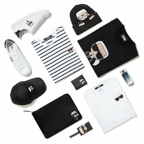 卡爾, 卡爾爺爺, 卡爾拉格斐, Karl Lagerfeld, Chanel, 香奈兒, 時尚大帝, 時尚老佛爺, 平底鞋, 休閒鞋, 穿搭, 街拍, 超模, 名模