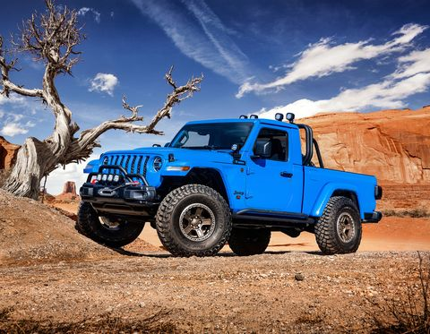 This Two Door Gladiator Is The Easter Jeep Safari Concept We