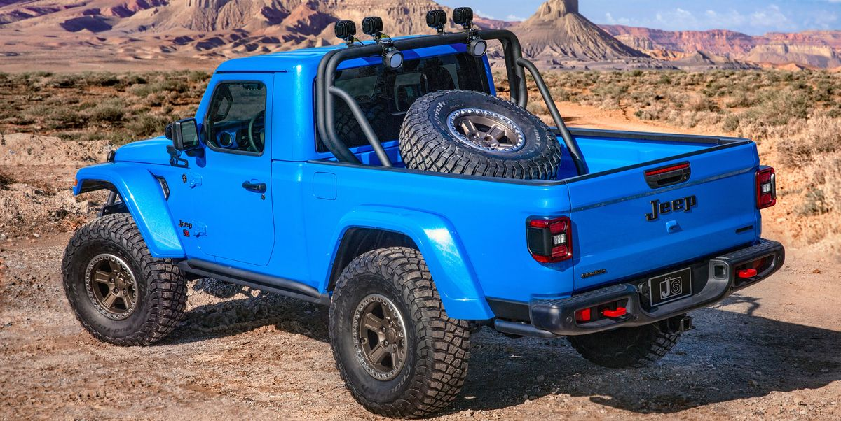 Two-Door Jeep J6 Pickup Concept - 2019 Moab Easter Safari