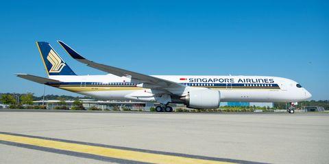 Longest Flight in the World - New York to Singapore Flight