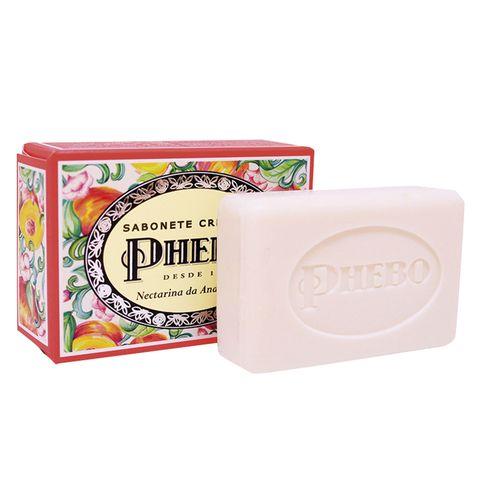 Jabón cremoso de aroma de nectarina de Andalucía