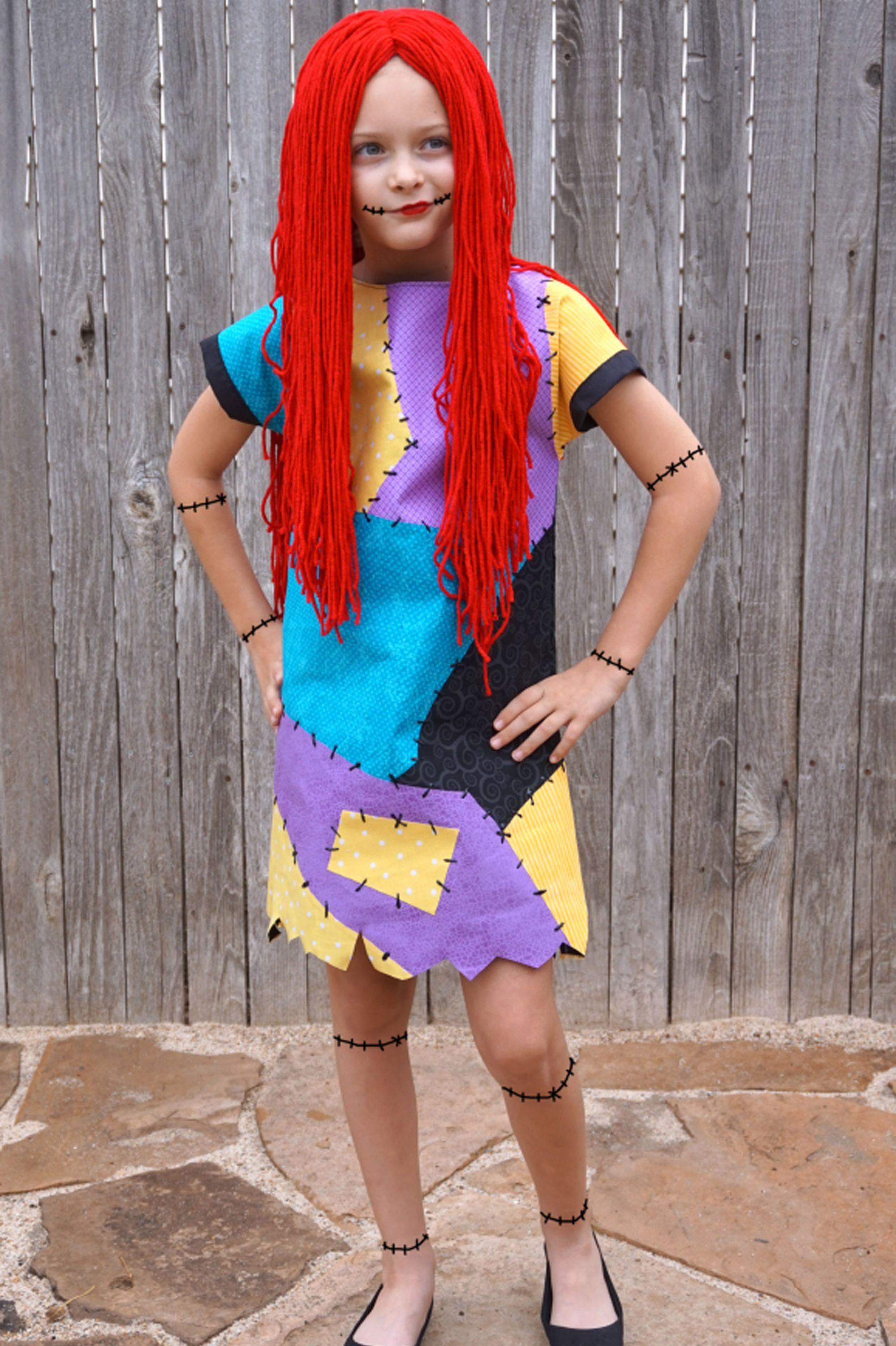 jack and sally costumes sally girl