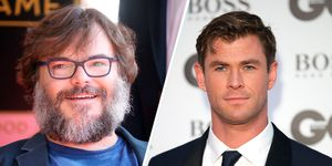 jack black vídeo entrenamiento chris hemsworth